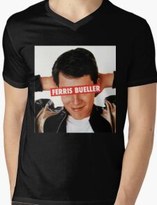 Ferris Bueller Mens V-Neck T-Shirt