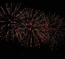Fireworks over Cascais Bay 3571 by João Castro