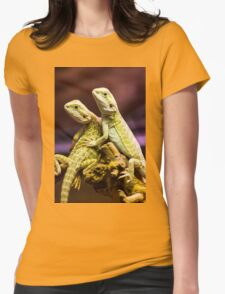 Lizards in Love Womens Fitted T-Shirt