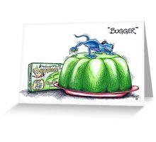 Bugger! Greeting Card