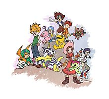 Digimon Adventure Photographic Print