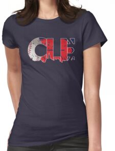 Cleveland, Ohio CLE Indians Shirts, Stickers, More Womens Fitted T-Shirt