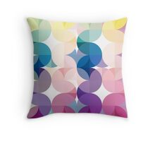 Back to the 70's Throw Pillow
