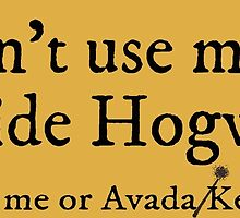 I can't use magic outside Hogwarts - Hufflepuff by TimonPower77