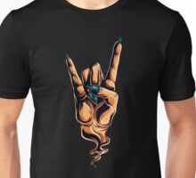 The Devils Horns hand gesture Unisex T-Shirt