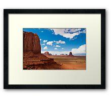 Monument Valley 1 Framed Print