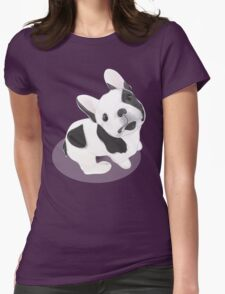 BULLDOG cute! Dog lovers Womens Fitted T-Shirt