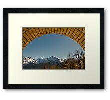 Nature in frame Framed Print