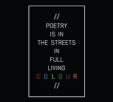 poetry in the streets by kateroseaustin