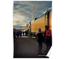 4449 To The Engine Poster