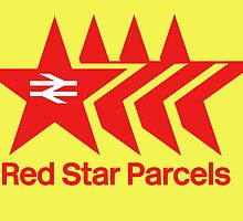 Red Star Parcels Logo by CherryCassette
