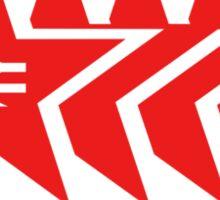 Red Star Parcels Logo Sticker