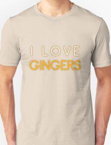 I LOVE GINGERS T-Shirt