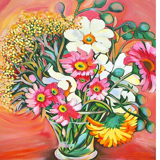 Summer Bouquet by marlene veronique holdsworth