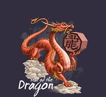 Year of the Dragon (for dark shirts) Unisex T-Shirt
