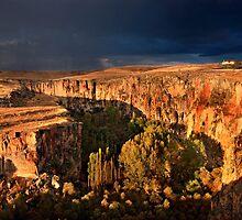 Storm coming at Ihlara valley - Cappadocia by Hercules Milas