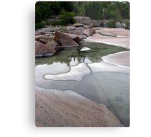 Lake Superior Shoreline - Marathon Ontario Metal Print