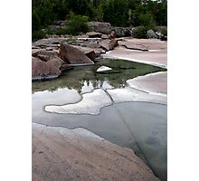 Lake Superior Shoreline - Marathon Ontario Photographic Print