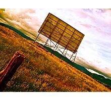 Former Drive-In Movie Theatre Photographic Print