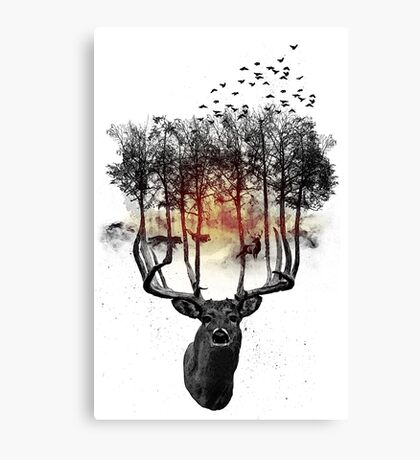 Ashes to ashes. Canvas Print