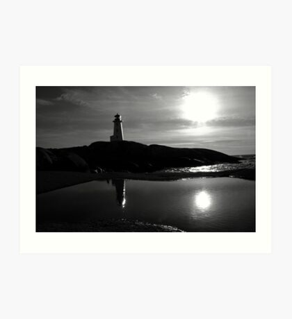 Late Day - Peggys Cove Art Print