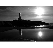 Late Day - Peggys Cove Photographic Print