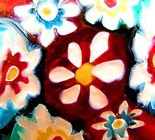 Kaleidoscope Floral by Marina Raspolich