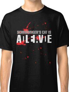 Schrödinger's Cat - Dark Colours Classic T-Shirt