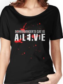 Schrödinger's Cat - Dark Colours Women's Relaxed Fit T-Shirt