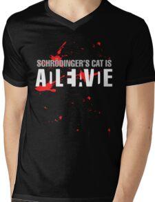 Schrödinger's Cat - Dark Colours Mens V-Neck T-Shirt