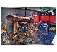 HDR Tractor Poster