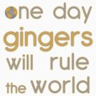 One day gingers will rule by JasonFrayling