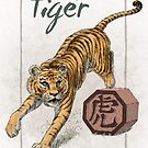 Chinese Zodiac - Year of the Tiger by Stephanie Smith