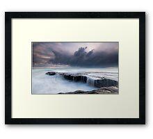 Fishermans Rock  Framed Print