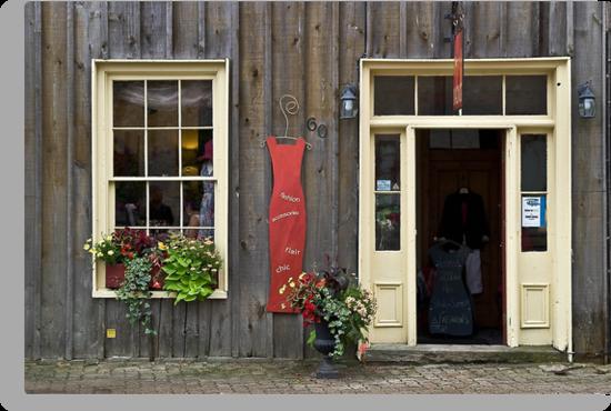 Pretty storefront in Elora, Ontario Canada by Eros Fiacconi (Sooboy)