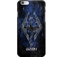 Digital neonlight Dragon rider sign logo iPhone Case/Skin