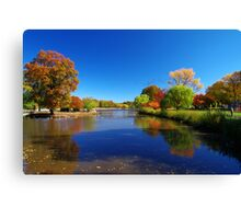 New Jersey Foilage  Canvas Print