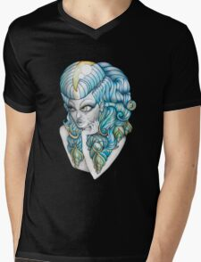 Shelarnike 'Lady O'sea Shell' Mens V-Neck T-Shirt