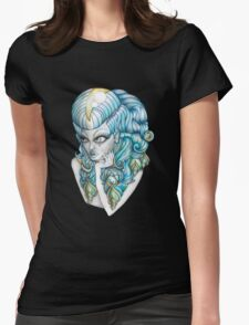 Shelarnike 'Lady O'sea Shell' Womens Fitted T-Shirt