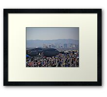 Welcome to the show Framed Print