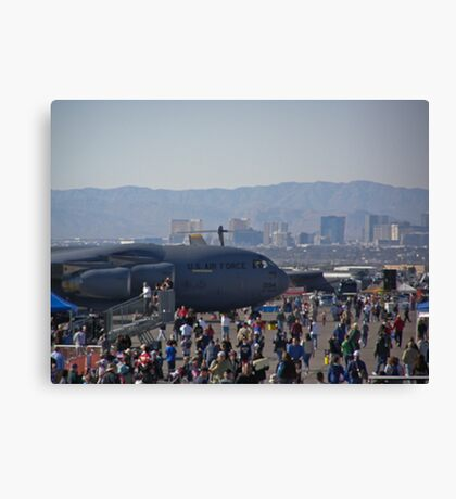 Welcome to the show Canvas Print