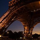 Eiffel Tower twilight by Eros Fiacconi (Sooboy)