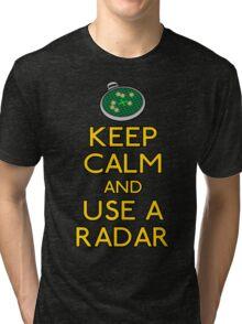 Keep use a radar Tri-blend T-Shirt