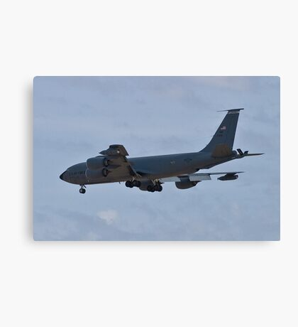 Side view of the KC-135 Stratotanker Canvas Print