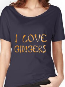 I love gingers Women's Relaxed Fit T-Shirt