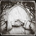 """"""" Clasped Hands """" ... Graveyard Adornments #63  by Malcolm Heberle"""