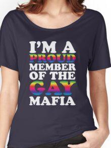 Gay mafia Women's Relaxed Fit T-Shirt