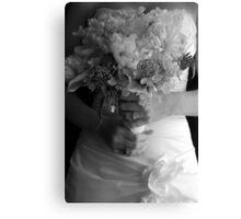 Bride Canvas Print