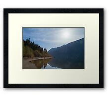 Silhouette of Shades Framed Print