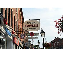 Fowles Photographic Print